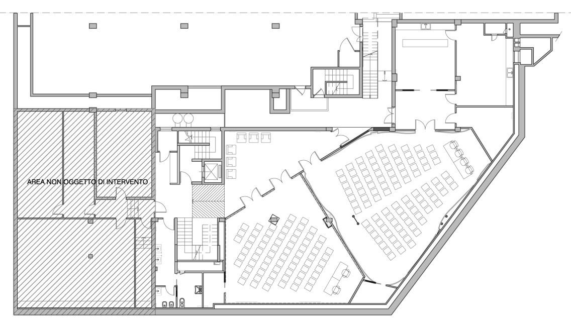 property management Figura 25 - Pianta piano interrato – Area conferenze..jpg
