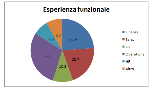 Temporary management esperienza funzionale